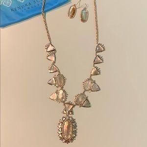 Kendra Scott Havana Necklace w matching earrings